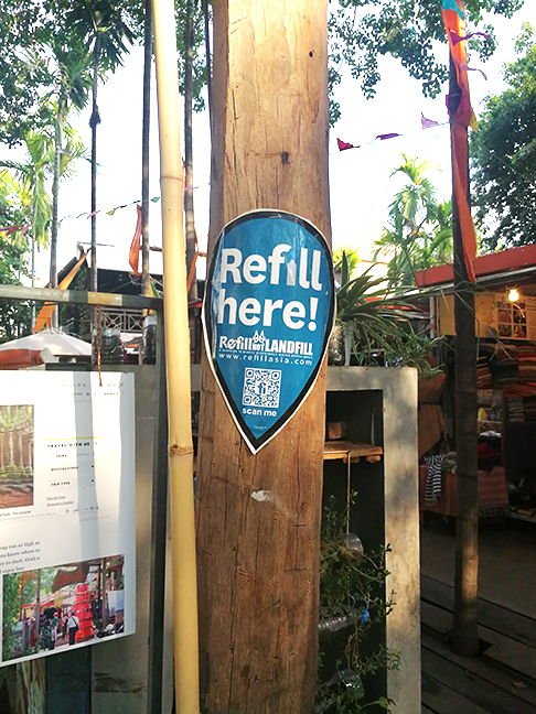 Refill my bottle station a Siem Reap